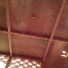 天井まで美しい