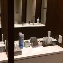 女性側トイレです^_^