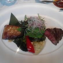 西京焼きとお肉