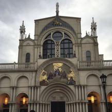外から見た大聖堂
