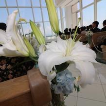 挙式会場装花