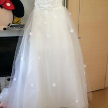 二次会で使用したドレスです。
