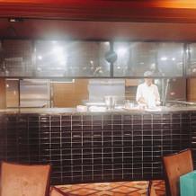 オープンキッチンが最大の魅力