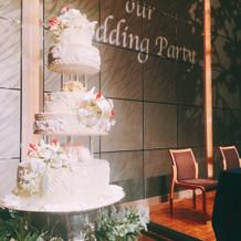 ケーキはイミテーションです。