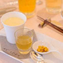 トウモロコシの冷製スープ