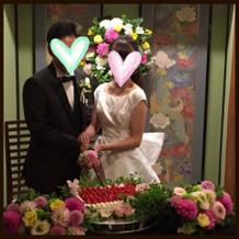 最高の結婚式になりました。