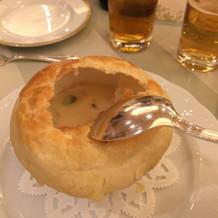 美味しかったパイのスープ