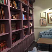 本棚などあるのも可愛かったです