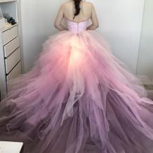 ディズニー公式ドレス