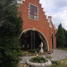 お庭つきのゲストハウス