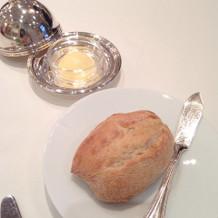 ドーム型のバターが可愛いです。