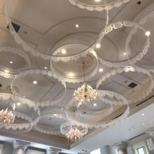 フランス館天井
