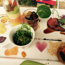 野菜ムースも美味しく、全体的に綺麗!