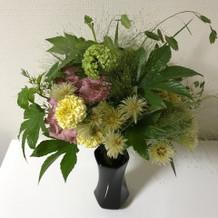 豪華な花束、頂きました。