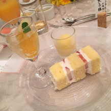 デザート(ウェディングケーキ+その他)