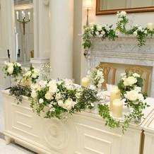 高砂装花と台
