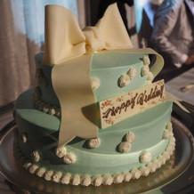 プラン内のケーキ