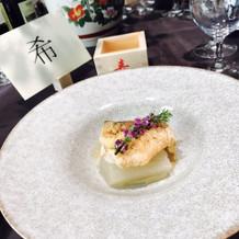 甘鯛のお魚料理