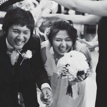 皆と近い結婚式