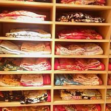 和装衣装棚