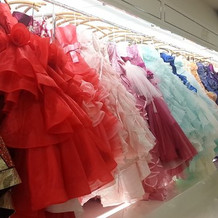 ドレスの種類が沢山でとても悩みました…