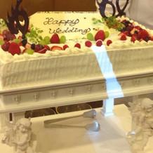 ウェディングケーキが一番美味しかった