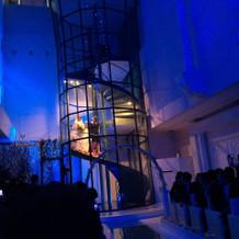 憧れの階段…。