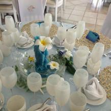 私達のテーブルコーディネート。