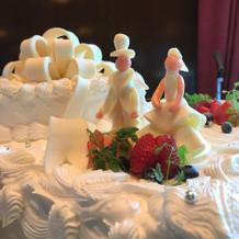 ウェディングケーキ見本