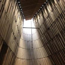 木造のチャペル