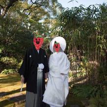 蘇山荘中庭