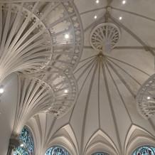天井が高く、雰囲気が素敵でした。