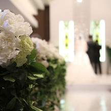 教会の装花