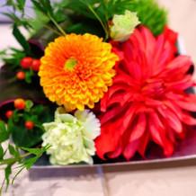 6,480円分卓上装花