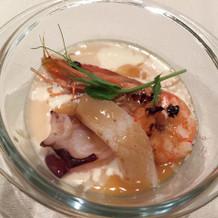 海鮮のスープ