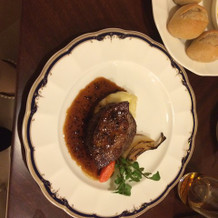 フォアグラのお肉 最高でした!