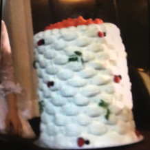 特徴的なケーキ