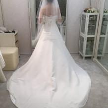 決定したドレス