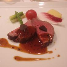 お肉は柔らかく美味しかったです。