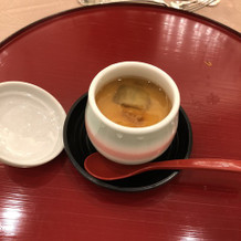 茶碗蒸しは、私的にかなり美味しかった!