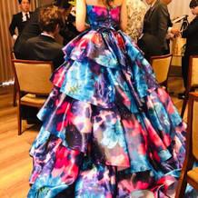 ハナダさんで借りた蜷川実花さんのドレス