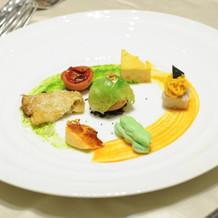 野菜のお菓子仕立てシュクレサレ