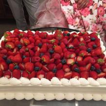 ケーキもかわいくておいしかったです!