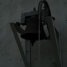 新郎新婦でこの鐘を鳴らすことが可能
