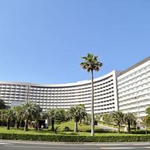 ホテルです