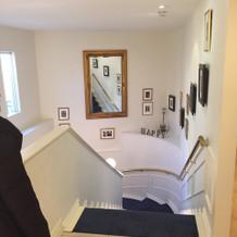 階段は少し狭いですが写真をとるには○