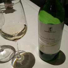 ノンアルコールの白ワイン