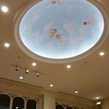 天井はかわいい天使