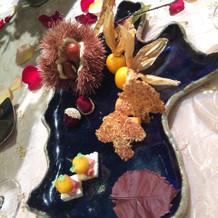 長野県の形をしたお皿に乗ってきました。