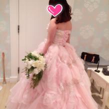 20万円のドレスです
